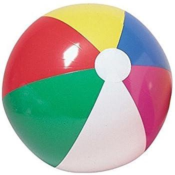Amazon Com Inflatable 12 Quot Rainbow Color Beach Balls 12