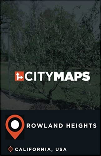 City Maps Rowland Heights California Usa James Mcfee