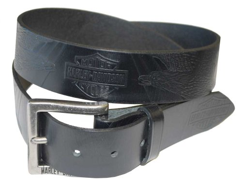 Harley Davidson Everlast Black Leather HDMBT10577