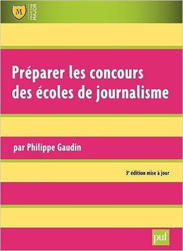 En ligne téléchargement Préparer les concours des écoles de journalisme epub, pdf