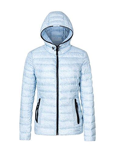 Bellivera Womens Puffer Winter Jacket Padding Jackets for Women Lightweight Quilted Coat Hooded Zipper Pockets Cotton Filling Coats