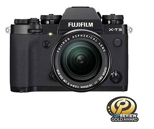 Fujifilm X-T3 Mirrorless Digital Camera w/XF18-55mm Lens Kit - Black from Fujifilm