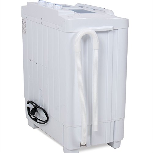 Della Electric Small Mini Portable Compact Washer Washing Machine (33L  Washer U0026 16L Dryer)   HomeGoodsReview