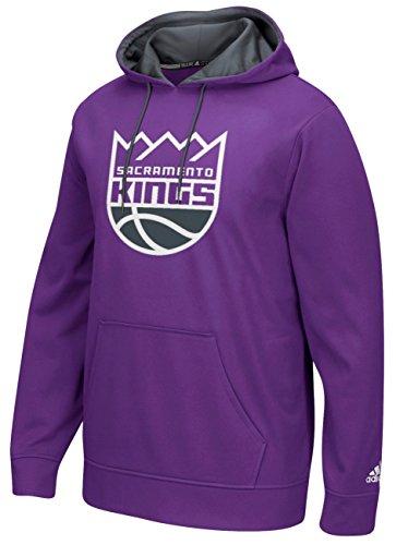 (NBA Sacramento Kings Men's Tip-Off Playbook Hoodie, Small, Purple)
