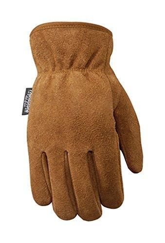 Wells Lamont Gloves Leather Men Med Lined 100 Gram