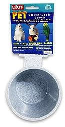 Lixit Corporation BLX0768 Lixit Crock for Feeding Pets, 10-Ounce, Granite