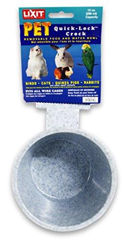 Lixit Corporation 30-0768-024 Lixit Crock for Feeding Pets, 10-Ounce, Granite (Lixit Crock)