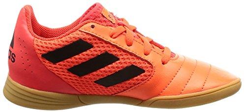 Niños Zapatillas Red Orange Black 17 Adidas core De Fútbol Para 4 solar J Sala Multicolor Ace solar qzqxawAXp