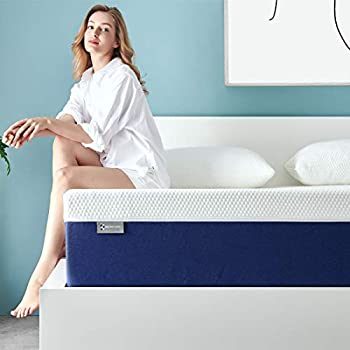 Queen Mattress, Ssecretland 10 Inch Premium Gel Multi Layered Memory Foam Bed Mattress in a Box with CertiPUR-US Certified Foam for Pressure Relief, Queen Size,Breathable, Easy Set-Up