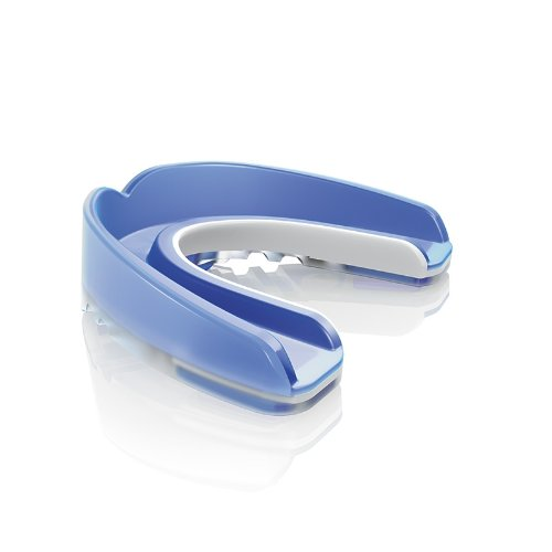 Shock Doctor Nano 3D Convertible Mouthguard (Trans Blue, Adult)