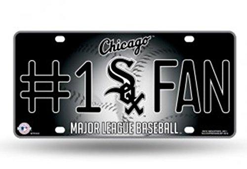 MLB Chicago White Sox #1 Fan Metal Tag
