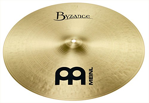 Meinl Cymbals B17TC Byzance Traditional Serie 43,2 cm (17 Zoll) Thin Crash Becken Traditional Finish Handgehämmert