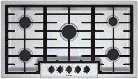 36 gas cooktop stainless - 1