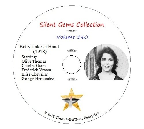Amazon Dvd Betty Takes A Hand 1918 Starring Olive Thomas