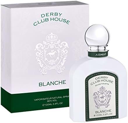 Armaf Derby Club House Blanche EDT Men New in Box, 3.4 oz