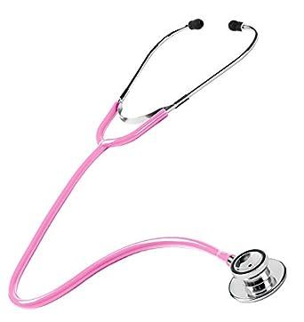 Prestige Medical S HPK Estetoscopio con doble cabezal color rosa intenso