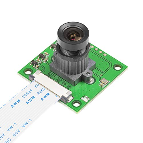 Lens Board for Raspberry Pi Camera, Arducam Adjustable and Interchangeable Lens M12 Module, Focus and Angle Enhancement for Raspberry Pi 3, 3 B+, and More