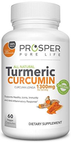 Turmeric Curcumin Capsules 1300mg Daily