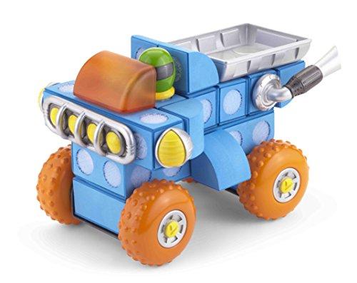 Velcro Kids, Velcro Brand Blocks   Building Blocks, Lightweight Foam   26 Piece, Compatible with Other Cars/Trucks   Race Truck, Age 3+