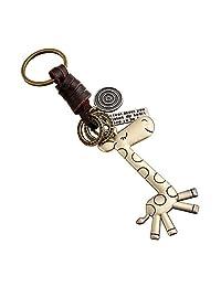 DYLANDY Giraffe Keyring Cute Keychain Bag Charm for Handbag Pendant Car Decoration
