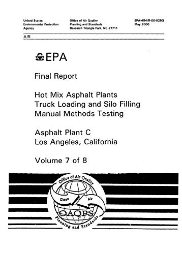 (Hot Mix Asphalt Plants Truck Loading And Silo Filling Manual Methods Testing Volume 7 Asphalt Plant C Los Angeles California)