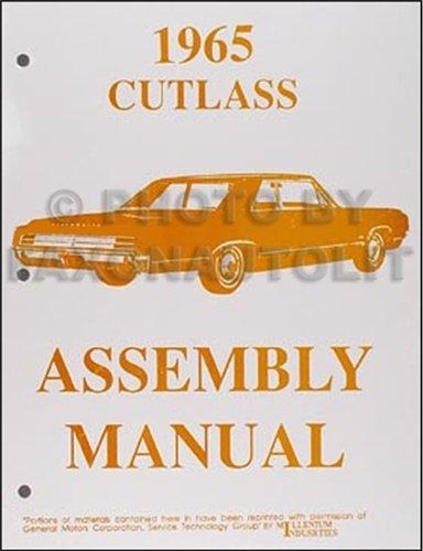 1965 Olds F-85, Cutlass & 442 Assembly Manual Reprint Oldsmobile F85 Cutlass