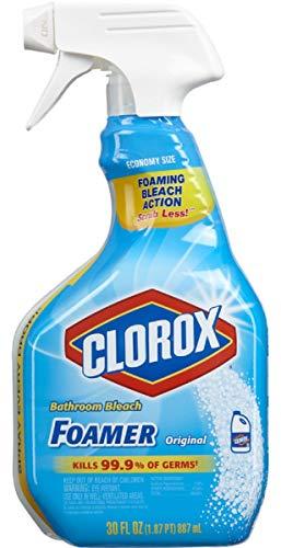 Clorox Bleach Foamer Bathroom Cleaner 30 oz (Pack of 6)