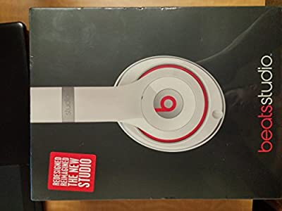 Beats by Dr. Dre - Beats Studio Over-the-Ear Headphones (White)