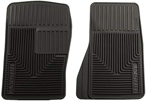 Husky Liners 51071 Front Floor Mats Fits 95-05 Blazer/Cavalier/Sunfire, 87-04 Mustang , Black , Large