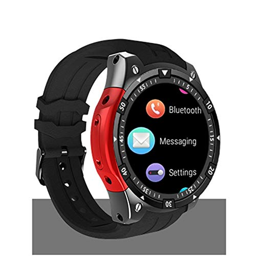 DASHAN Smart Watch, Bluetooth Smartwatch for Women Men Compatible Android iOS, Fitness Tracker with Heart Rate Monitor,A