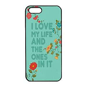 Case For Sony Xperia Z2 D6502 D6503 D6543 L50t L50u Cover ,DIY I love my life and the ones in it Black PC Phone Case Cover Protector Case For Sony Xperia Z2 D6502 D6503 D6543 L50t L50u Cover
