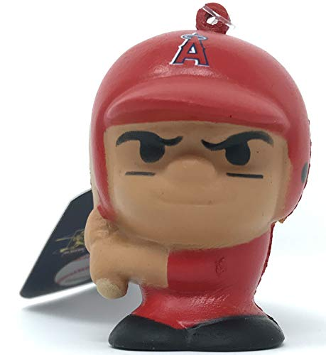 Party Animal Los Angeles Angels Mike Trout #27 SqueezyMates MLB Baseball Squishee Squishy Figurine