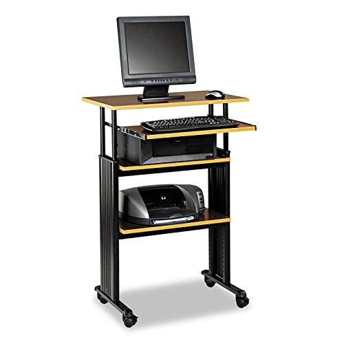 "Safco Products 1929CY Muv 35-49"" H Stand-Up Desk Adjustable Height Computer Workstation image"