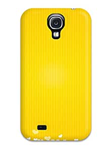 Tpu Shockproof/dirt-proof Yellow Cover Case For Galaxy(s4)
