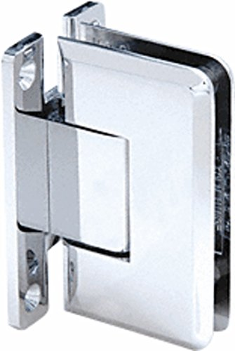 CRL Cologne 037 Series Chrome Wall Mount Shower Door Hinge