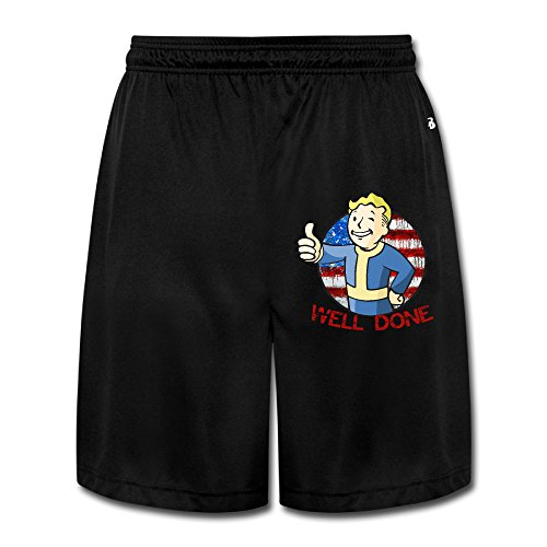 CYANY FALL OUT VAULT BOY THUMBS UP Breathable Athletic Hiking Men's Performance Shorts Sweatpants 3X (Thumbs Up Rain Boots compare prices)