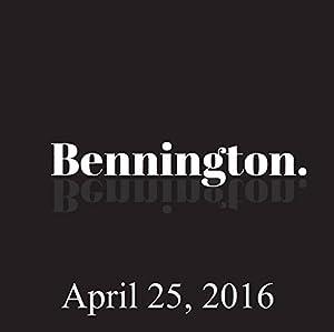Bennington, Kevin Pollak, April 25, 2016 Radio/TV Program