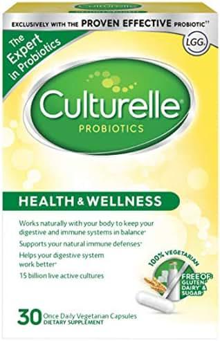 Probiotics: Culturelle Health & Wellness