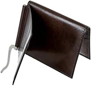 Bosca Old Leather Money Clip w/Outside Pocket