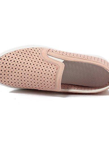 tacón Uk7 Gyht Oficina Zapatos Eu41 Cn42 Punta Plano comfort exterior Blanco mocasines Black De Mujer Rosa 5 Trabajo 10 8 E negro Redonda semicuero Zq us9 Pink Uk7 Cn41 Eu40 Casual 5 Y us9 gSIPxpnWn