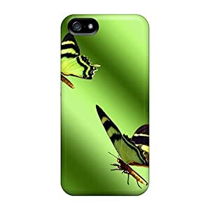 New Bamboo Butterflies Cases Covers, Anti-scratch Phone Cases For Iphone 5/5s