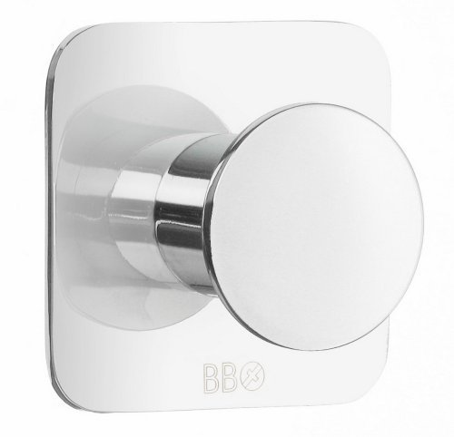 Beslagsboden Single Wall Mounted Hook Finish: Polished Stainless Steel