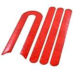 41oG5W%2Bk6zL. SS150 myBESTscooter - Adesivi Catarifrangenti per Ruota Anteriore e Posteriore per Monopattino Elettrico Xiaomi M365 PRO