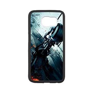 Batman Batmobile Samsung Galaxy S6 Cell Phone Case White Phone cover L7778641