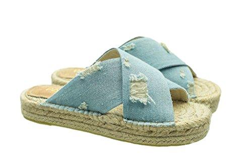 Sandalias Denim Sandal Air Alpargatas Flatform POq7wrBP1