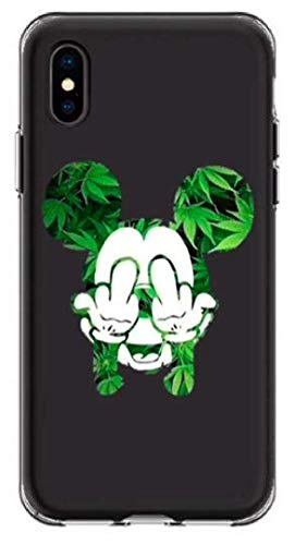 coque canabis iphone x
