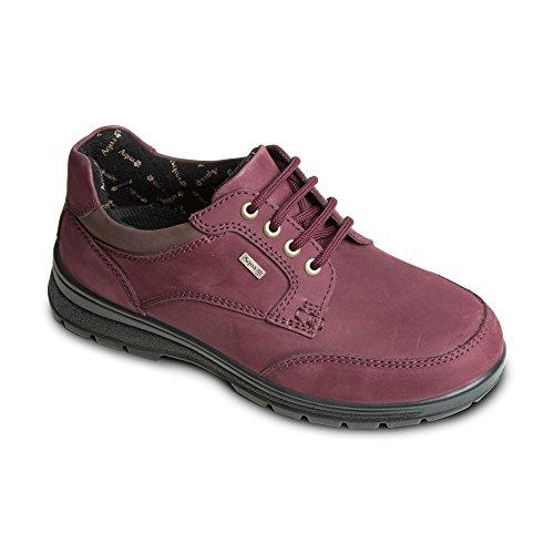 Lacets Pic Bordeaux Occasionnel Chaussures Rouge Womens Padders dPtqq