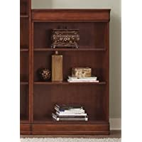 Liberty Furniture 101-HO3048-RTA Louis Jr Executive Bookcase, 30 x 12 x 48, Deep Cherry