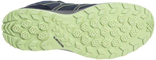 GTX Aerox High Women's Rise Lowa Boots Mint Blue Mid Hiking W 6908 Navy qECa4Bw