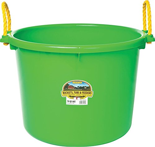 Little Giant Muck Tub, 70-Quart, Lime Green